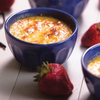 Honey-Vanilla Brulee