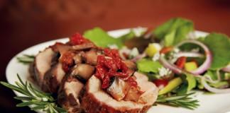 Pork Tenderloin With Sun-Dried Tomatoes