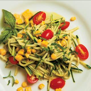 ... zucchini and corn. This zucchini and corn salad will make a refreshing