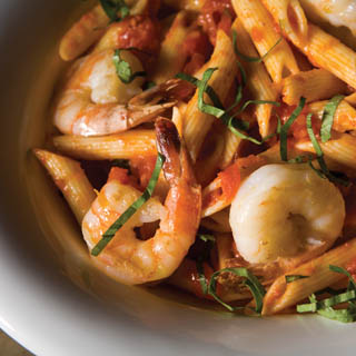 Fresh Shrimp and Tomato Pasta recipe