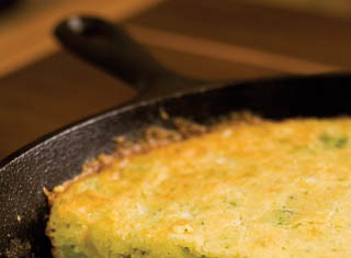 Broccoli Cheese Cornbread recipe