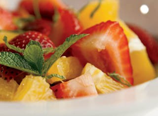 Orange Strawberry Salad recipe