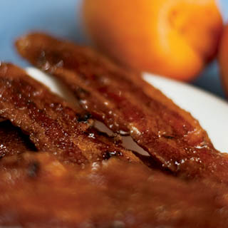 Maple Glazed Bacon recipe