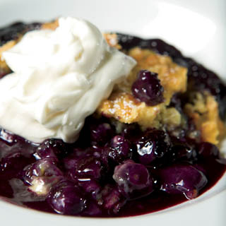 Blueberry Dump Cake recipe