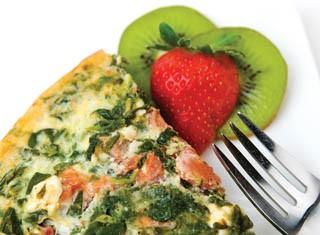 Mediterranean Spinach Quiche Recipe