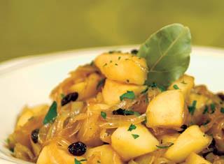 Onion Apple Chutney Recipe