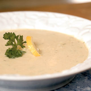 Lemon Artichoke Soup Recipe