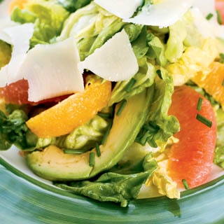 Mixed Citrus and Avocado Salad With White Balsamic Vinaigrette recipe