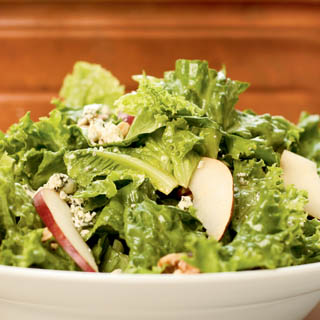 Eclectic Salad With Maple Ginger Walnuts Recipe