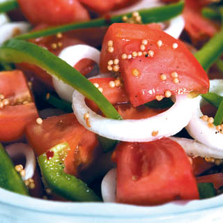 Fire and Ice Tomatoes recipe
