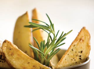 Spring Potato Wedges recipe