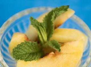 Iced Summer Peaches recipe