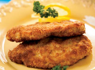 Parmesan crusted chicken breasts recipe