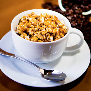 Espresso Popcorn recipe