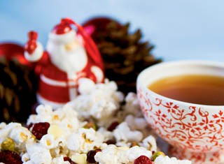 Christmas Candy Popcorn recipe