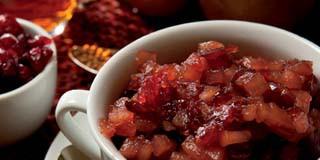 Pear Cranberry Chutney Recipe