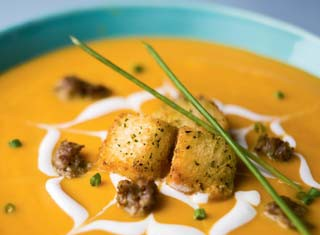 Squash and Sausage Soup Recipe