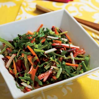 Summer Slaw with Creamy Jalapeno-Citrus Dressing
