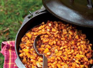 Maple Apple Baked Beans Recipe