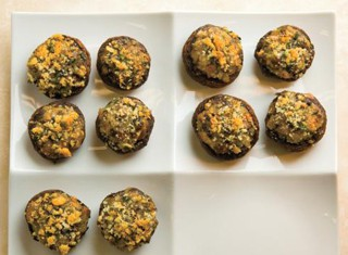Mushroom-Stuffed Mushrooms With Cheese Recipe