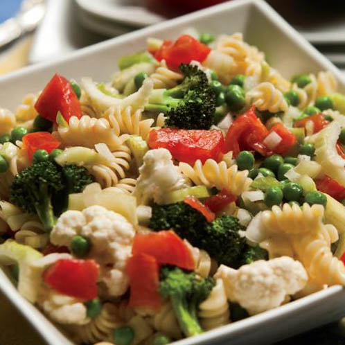 Cold Vegetable Dish  Letters