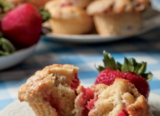 Fresh Strawberry Muffins Recipe