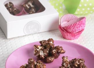 Rocky Road Popcorn Clusters Recipe