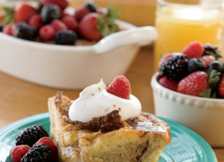 Overnight French Toast Casserole Recipe With Mixed Berries