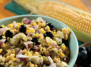 Blueberry Corn Salad Recipe