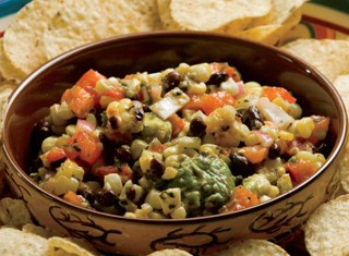 Grilled Corn, Black Bean, Avocado Salsa Recipe
