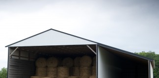 Grain Bins built with Ag Enhancement money