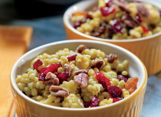 Curried Barley with Cranberries, Raisins and Pecans Recipe