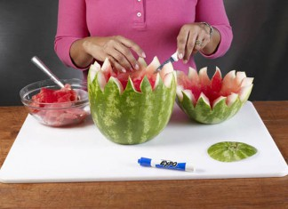 How to Make a Watermelon Bowl