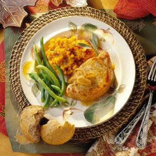 Autumn Apple Chops Recipe