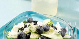 Blueberry Cucumber Salad Recipe