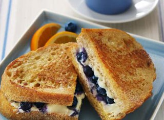 Blueberry Stuffed French Toast Recipe