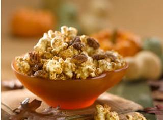 Maple Pumpkin Spice Popcorn
