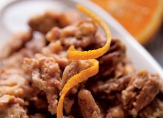 Orange Glazed Pecans
