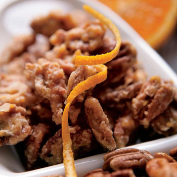 Orange Glazed Pecans