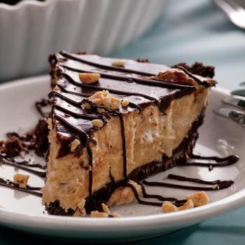 Chocolate Peanut Butter Silk Pie | Farm Flavor