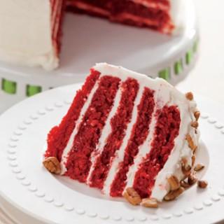 Five-Layer Red Velvet Cake Recipe