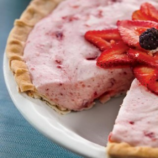 Strawberry Chiffon Pie Recipe