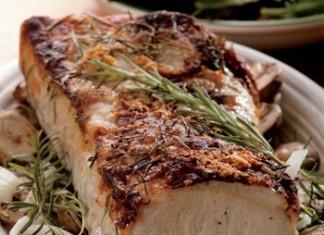 Rosemary Crusted Pork Loin Recipe