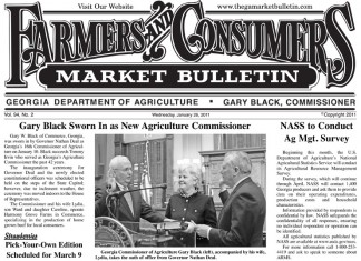 Georgia Farmers and Consumers Market Bulletin