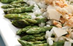 Warm Asparagus Salad with Lemon, Parmesan and Breadcrumbs
