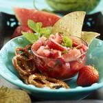 Watermelon Strawberry Mint Salsa