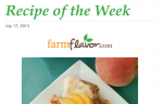 Recipe of the Week Newsletter