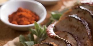 Roasted Pork Tenderloin with Cocoa Chile Rub