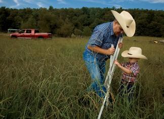 Arkansas cattle rancher Marcus Creasy