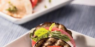 Grilled Eggplant Caprese Salad Recipe